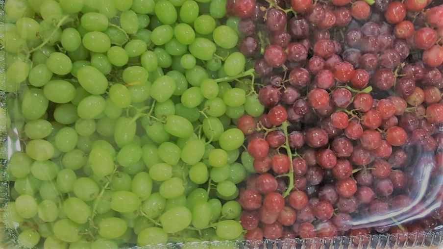 Sweet Seedless Grapes Buffet